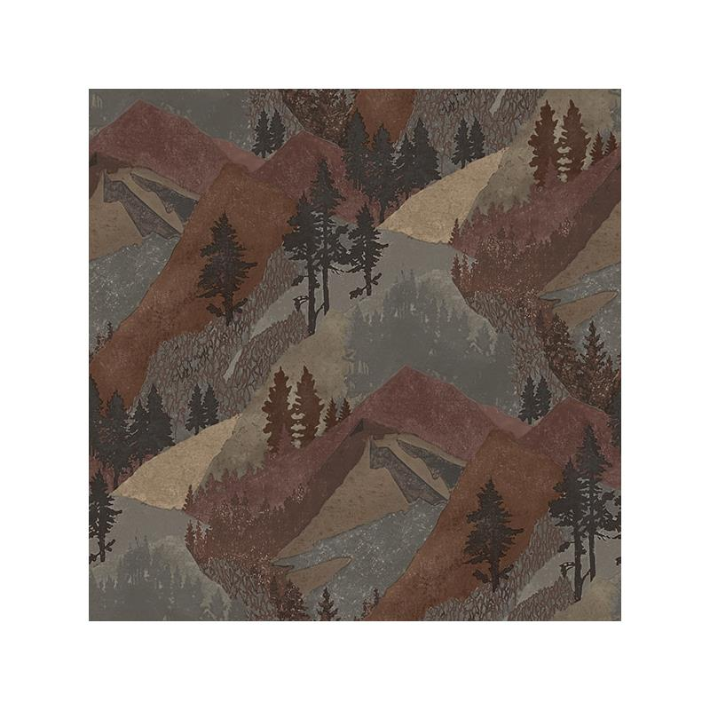 3118-12634 Birch and Sparrow, Range Mountains by C