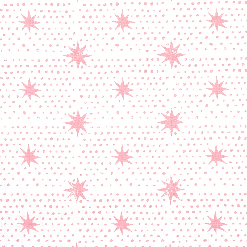 179162 Spot and Star, Pink by Schumacher Fabric