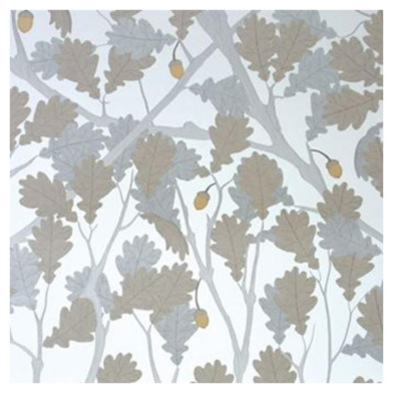 Osborne and Little Feuille de Chene Ivory-Silver-G