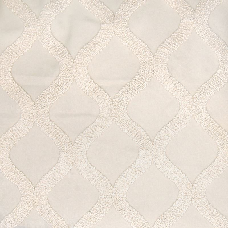 A7923 Pearl, Neutral Geometric Drapery by Greenhou