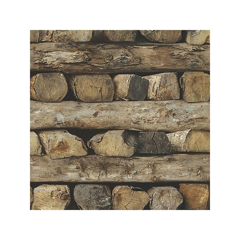 2774-931808 Stones and Woods, Bighorn Brown Logs b