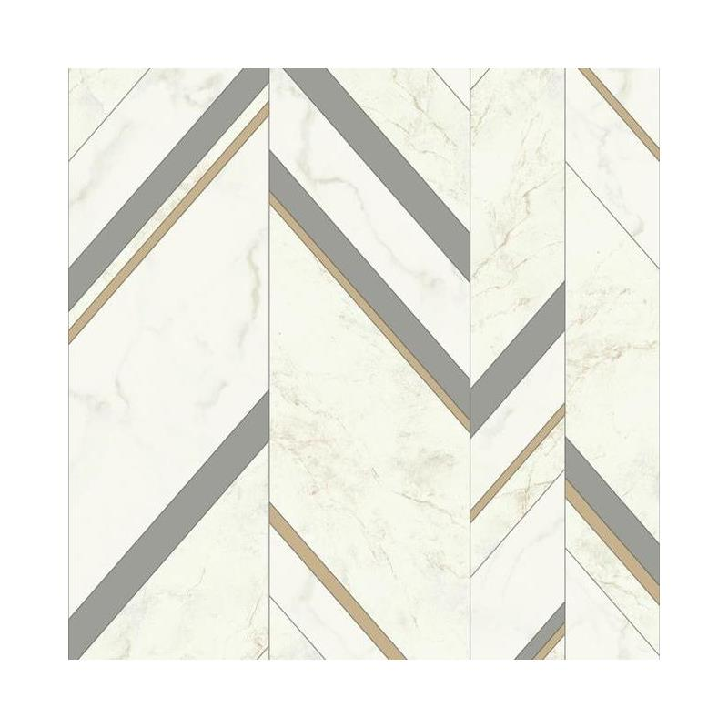 MM1803 Marble Chevron by York Wallcoverings