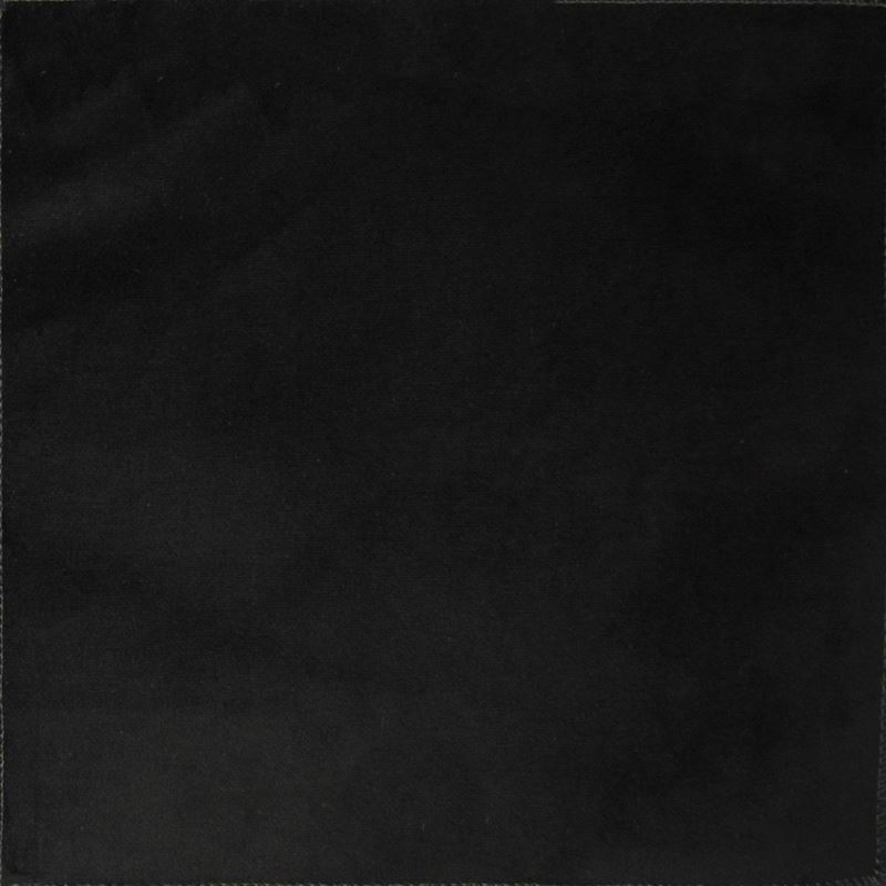 F1159 Midnight, Black Solid Upholstery Fabric by G