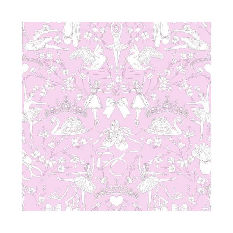 KI0502 A Perfect World, Ballet Toile, Orchid Child