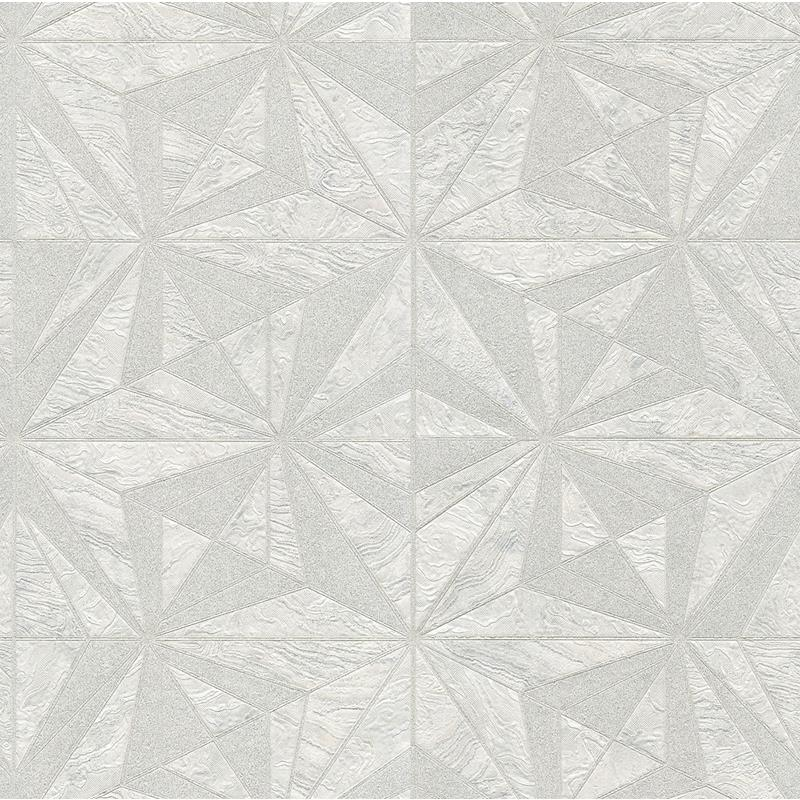 2835-C88621 Deluxe, Los Cabos Ivory Marble Geometr