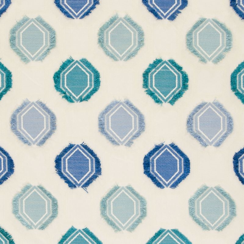 B5906 Dolphin, Blue Medallion Multipurpose by Gree