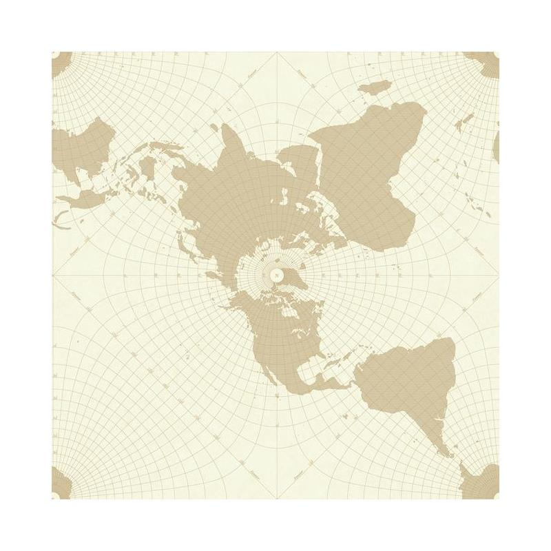 HO3367 Maritime Map, Tailored by York Wallpaper