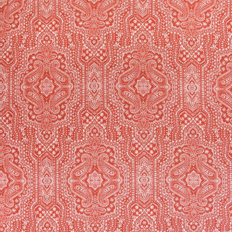 B5005 Lava, Red Paisley Multipurpose by Greenhouse