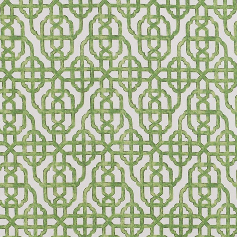 F1339 Emerald, Green Geometric Multipurpose Fabric