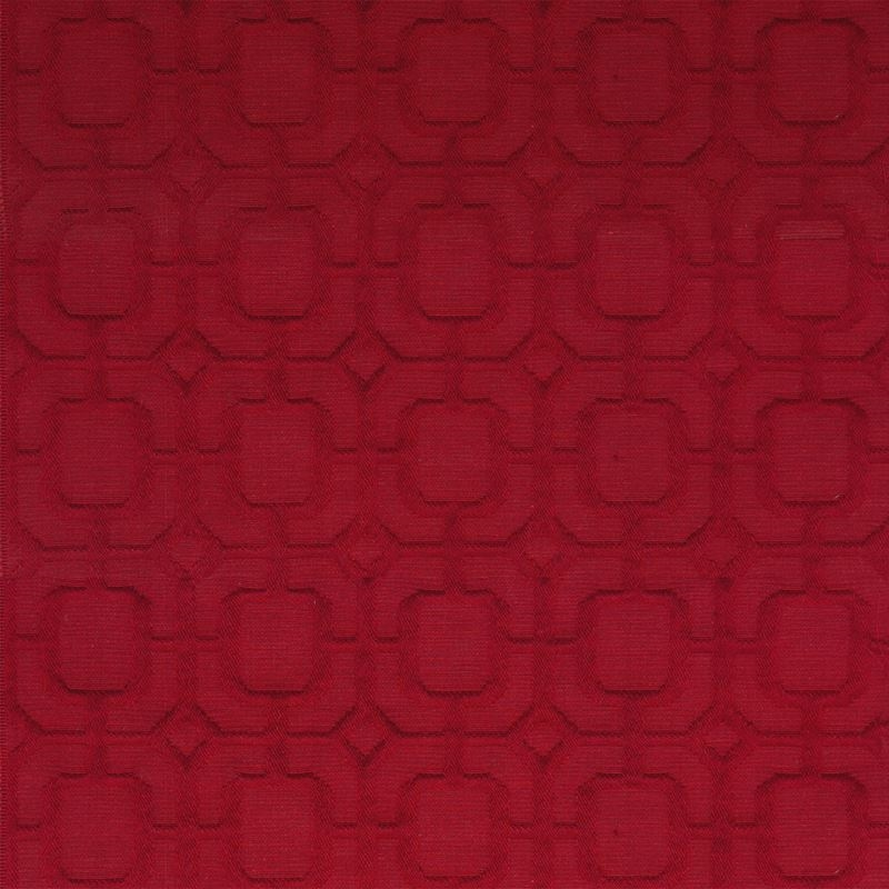 B9853 Ruby, Red Geometric Upholstery Fabric by Gre