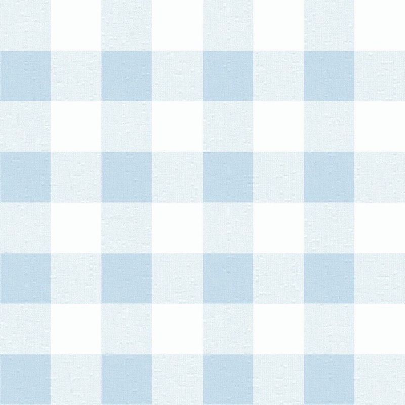 MB31912 Beach House Picnic Plaid, Blue Oasis Plaid