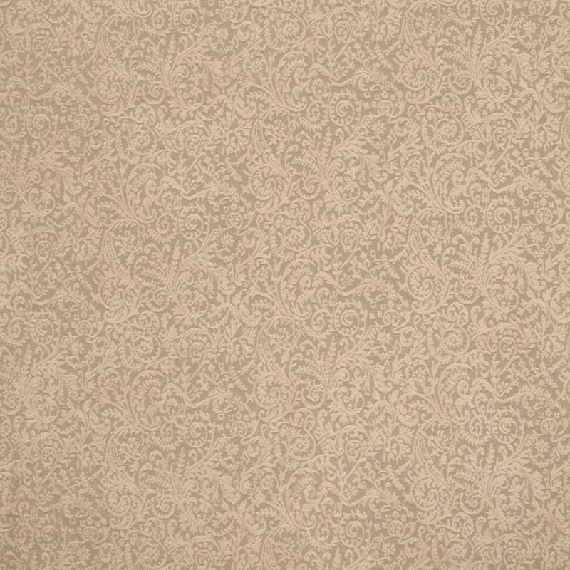 B6414 Sand, Neutral Scroll by Greenhouse Fabric
