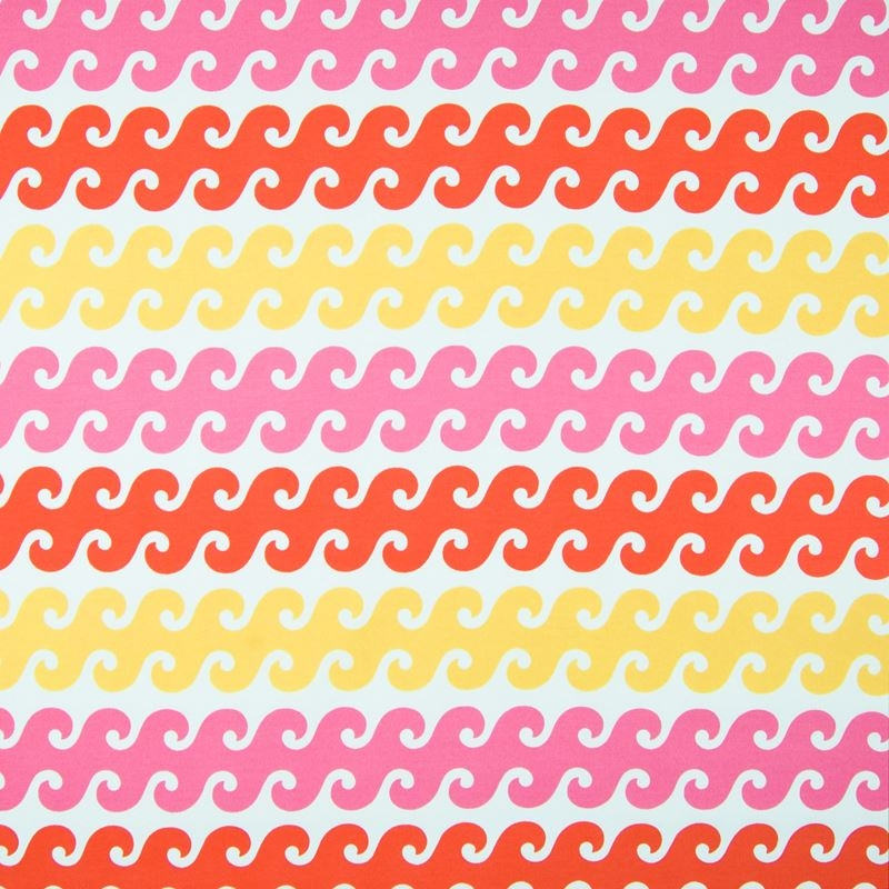 B6957 Coral Sunshine, Pink Tropical by Greenhouse