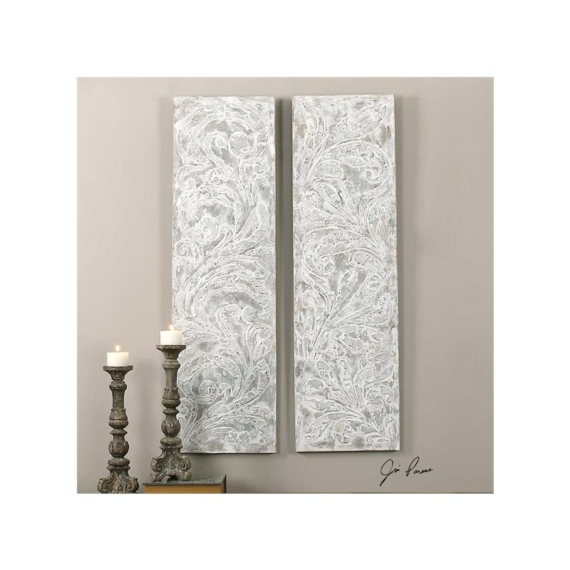 35500 Frost On The Window S/2 by Uttermost