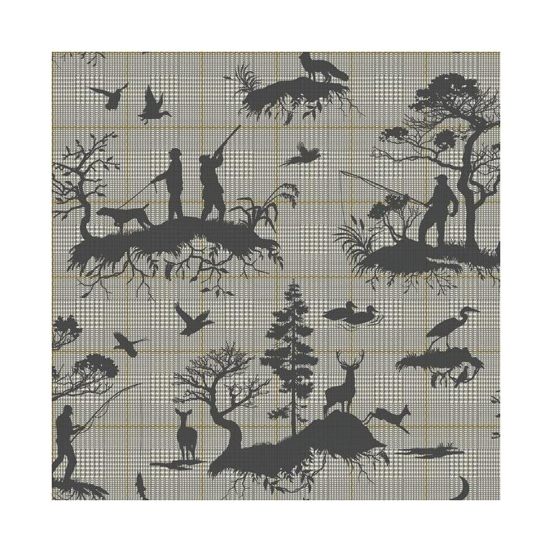 HO3325 Outdoorsmen Toile, Tailored by York Wallpap