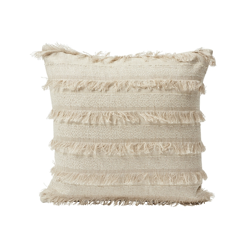 """So7265004 Acadia 18"""" Pillow, Greige By Schuma"""