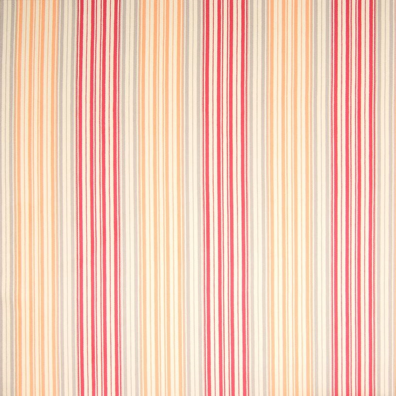 B6962 Sunburst, Orange Stripe Upholstery by Greenh