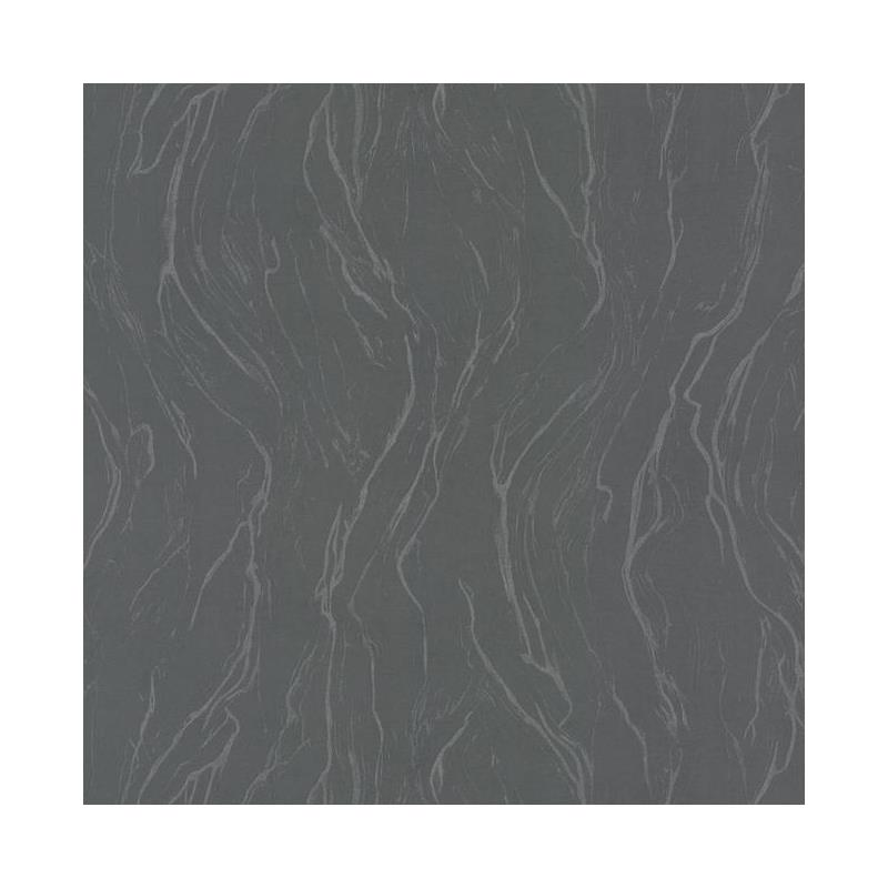 83656 Urban Oasis, Upstream Wallpaper Charcoal Yor