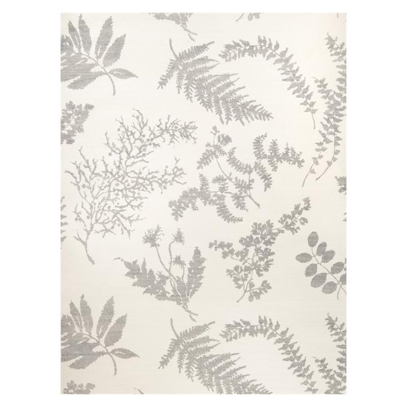 Wildflowers Sisal Gray On Oyster Silhouettes Stroh