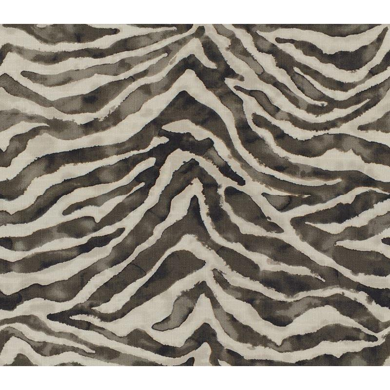 ZEBRINK.21.0 Charcoal Multipurpose Skins Fabric by