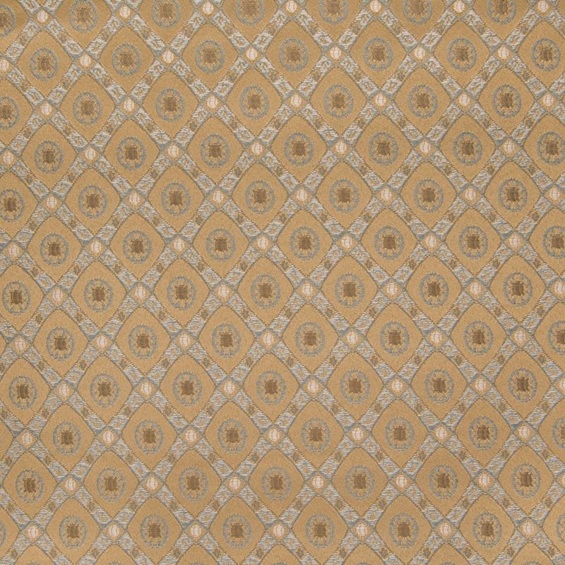 B2541 Latte, Gold Medallion Upholstery by Greenhou