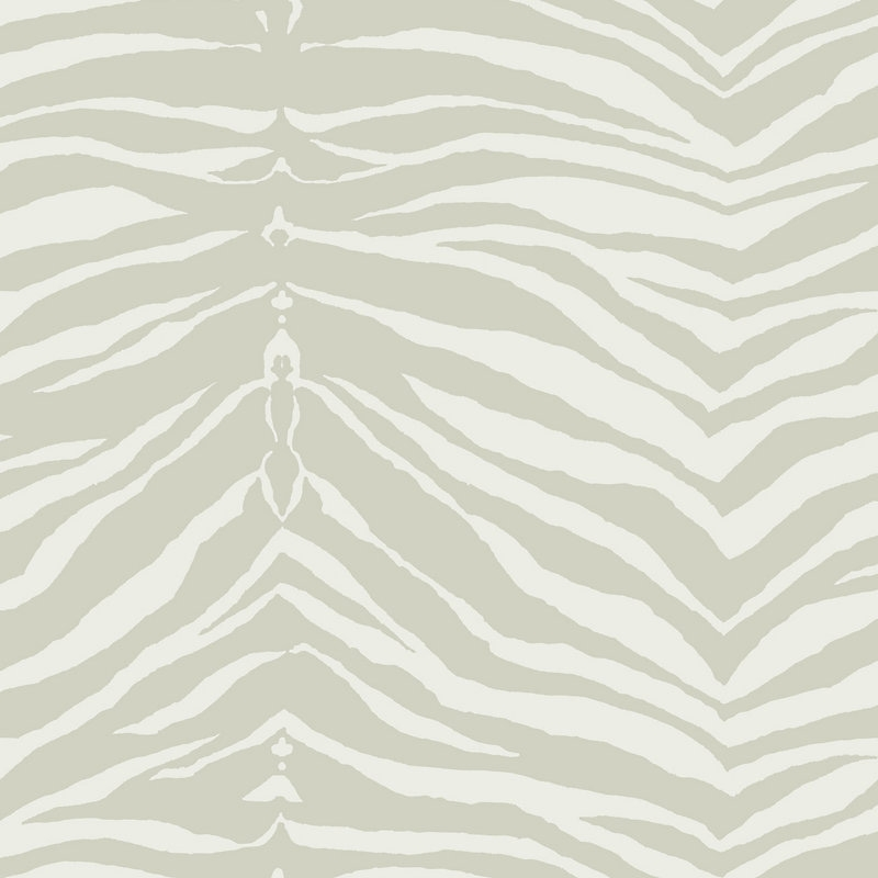 WMAMF060206 Zebra, Silver White by Scalamandre Wal