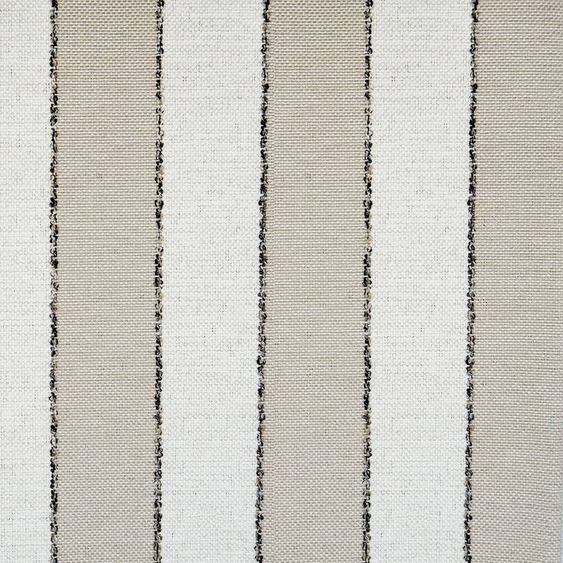 F1386 Pebble, Brown Stripe Upholstery Fabric by Gr