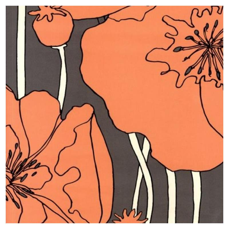 Osborne and Little Arizona Charcoal-Orange W5801-0