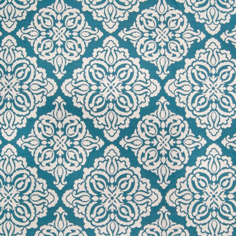 B2733 Ocean, Blue Scroll Upholstery by Greenhouse