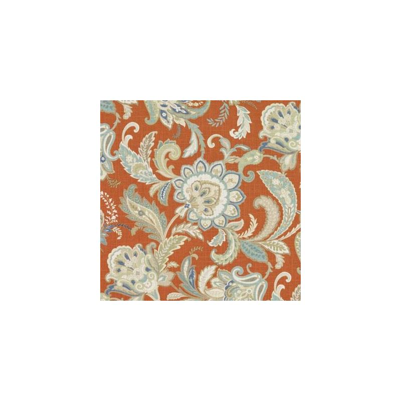 42485-451 Papaya Duralee Fabric