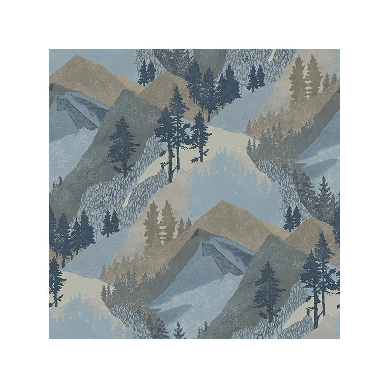 3118-12631 Birch and Sparrow, Range Mountains by C