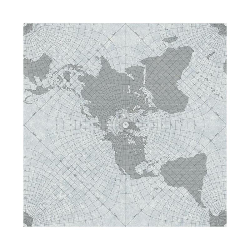 HO3366 Maritime Map, Tailored by York Wallpaper