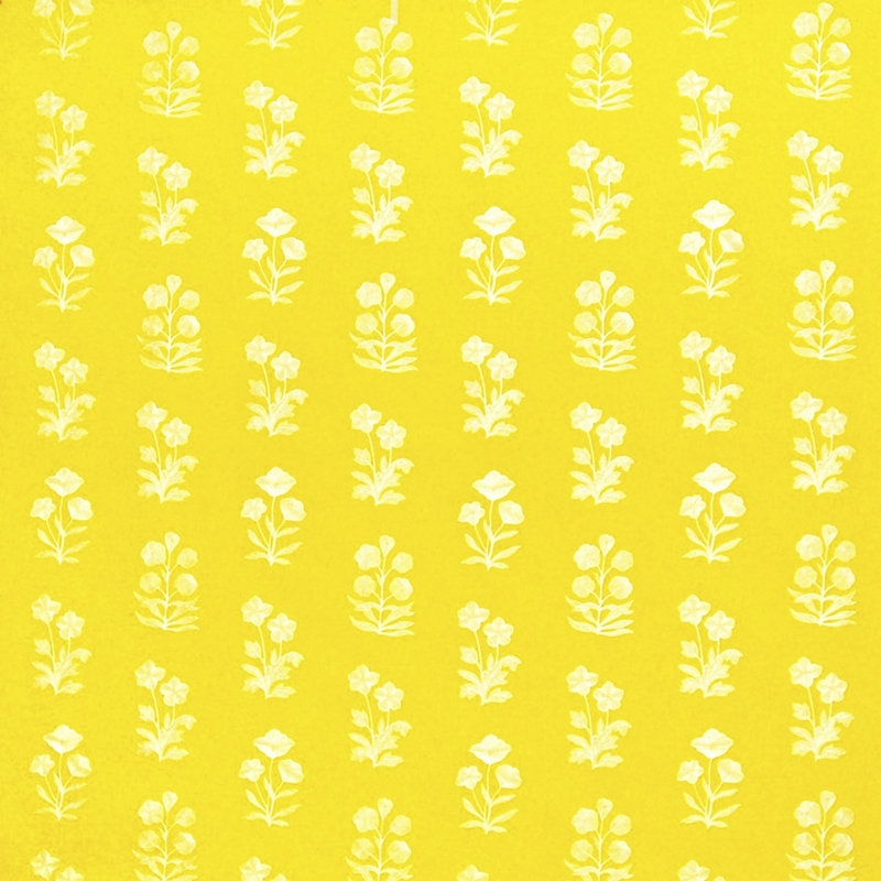LCF68788F Blue Grotto Embroidery, Limoncello Uphol