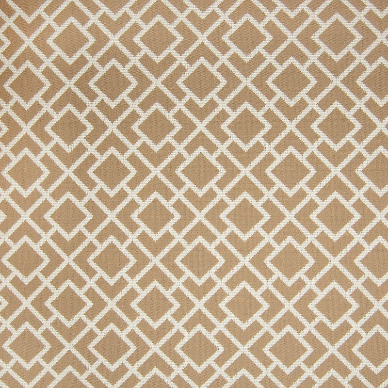 A8092 Sisal, Neutral Geometric Upholstery by Green