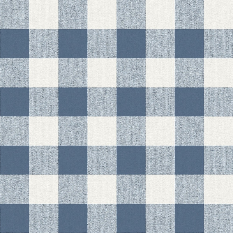MB31902 Beach House Picnic Plaid, Coastal Blue Pla