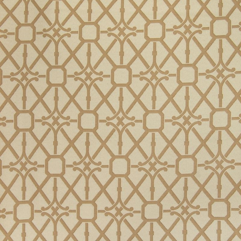 B4152 Shell, Gold Medallion Upholstery by Greenhou