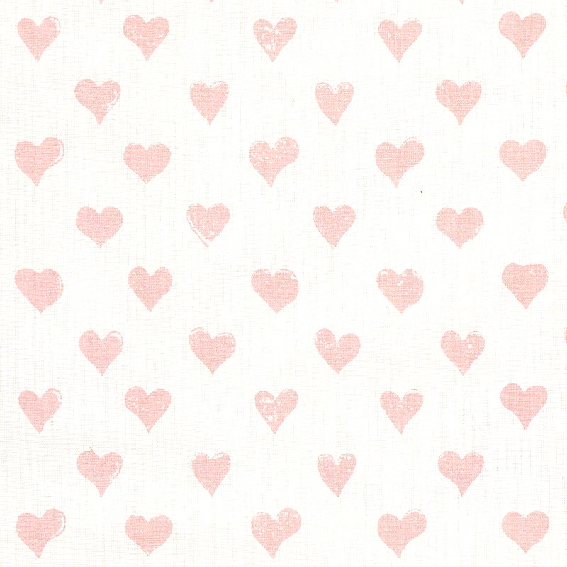 179590 Hearts, Pink by Schumacher Fabric