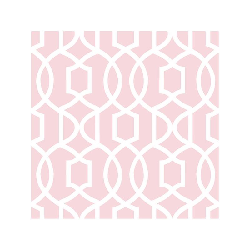 NU1420 Pink Grand Trellis Peel And Stick Wallpaper