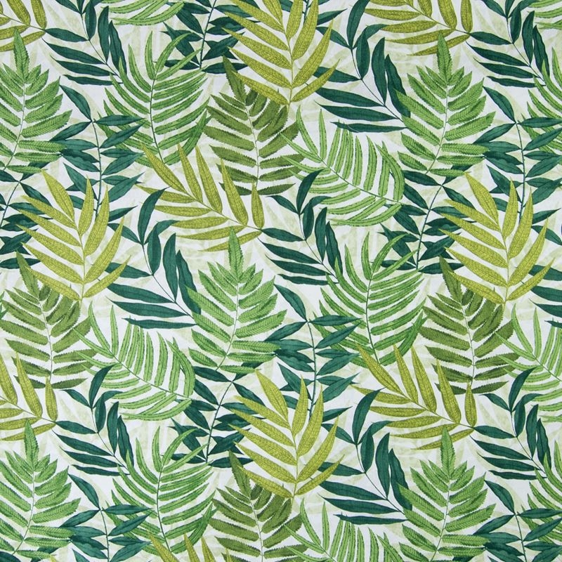 B4870 Palm, Green Tropical Upholstery by Greenhous
