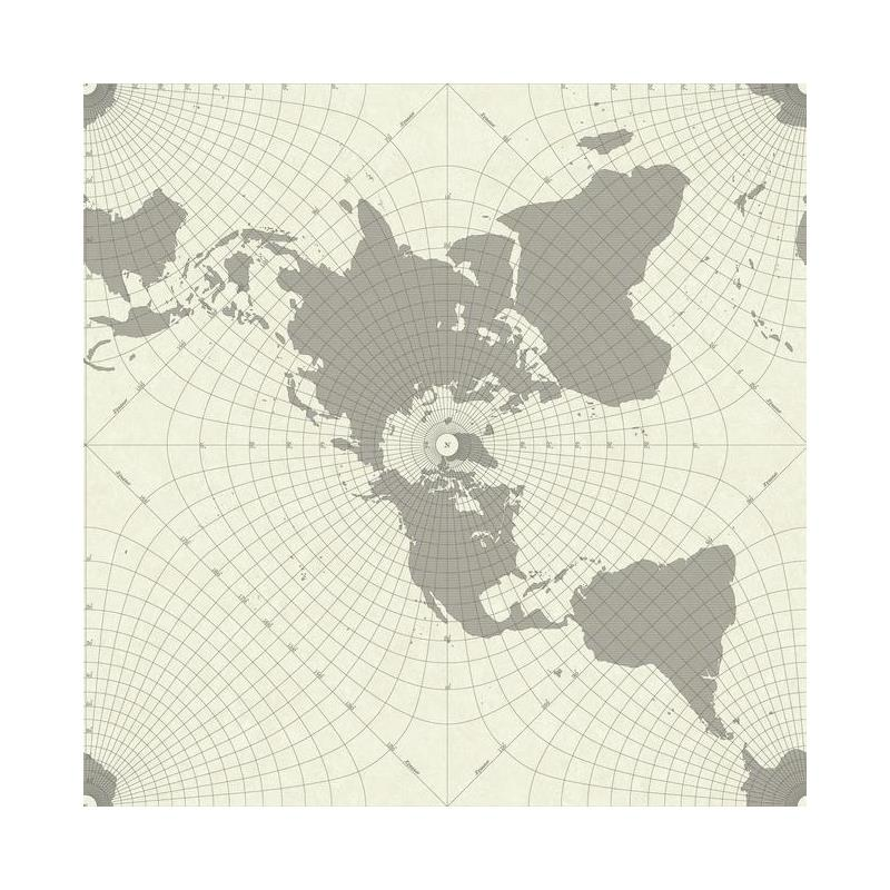 HO3365 Maritime Map, Tailored by York Wallpaper