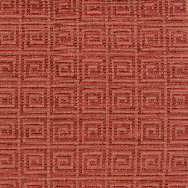 B4357 Adobe, Red Solid Upholstery by Greenhouse Fa