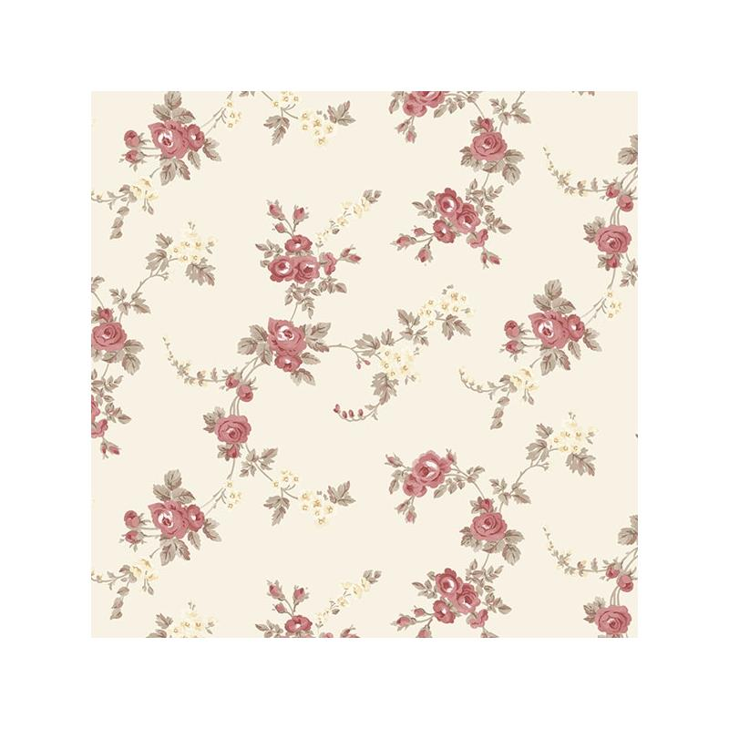 AF37708 Flourish Abby Rose 4, Red Chic Rose Wallpa