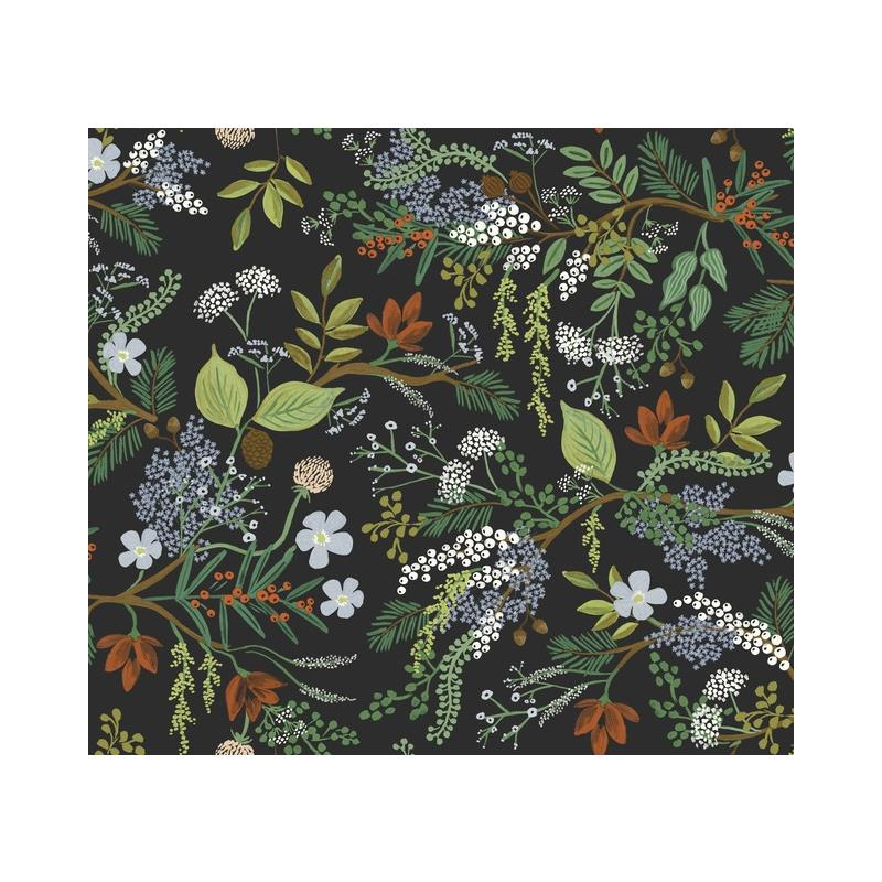 RI5166 Rifle Paper Co. Juniper Forest Black York W