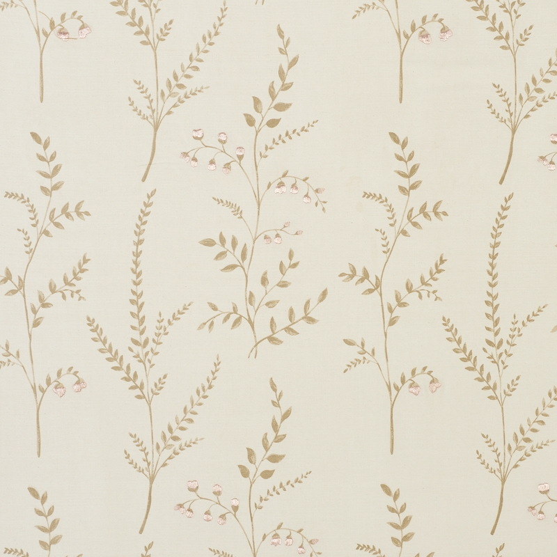 78351 Cynthia Embroidered Print, Natural by Schuma