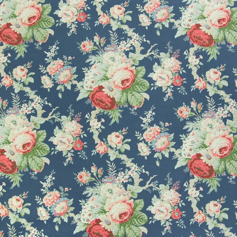 B3208 Heritage, Blue Floral Multipurpose by Greenh