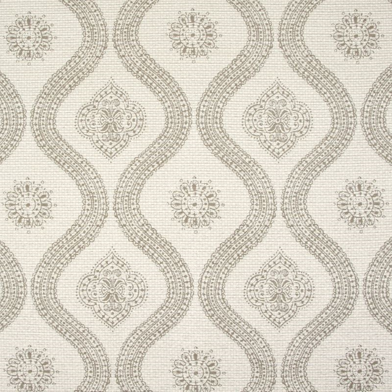 B9433 Sesame, Neutral Medallion Upholstery by Gree
