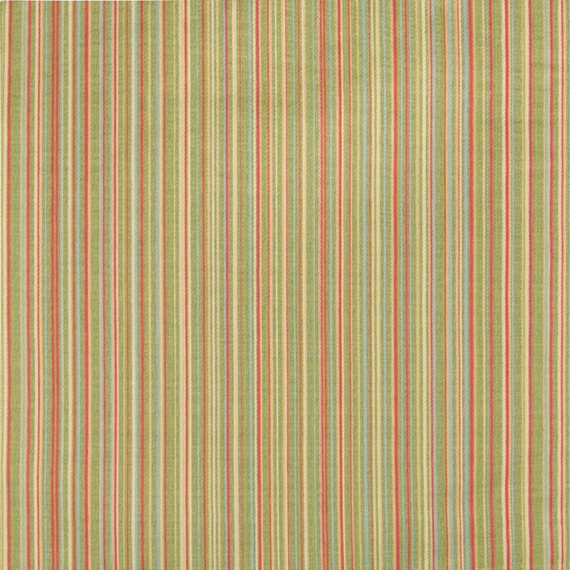 B2789 Kiwi, Green Stripe Upholstery by Greenhouse
