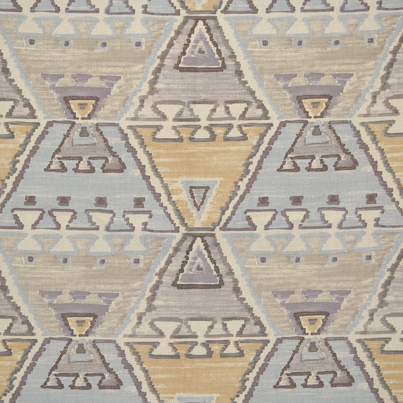 8279 Theo Desertscape, Multicolored Ikat/Southwest