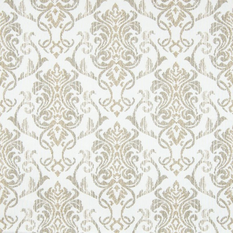 B7770 Bisque, Neutral Scroll Upholstery by Greenho