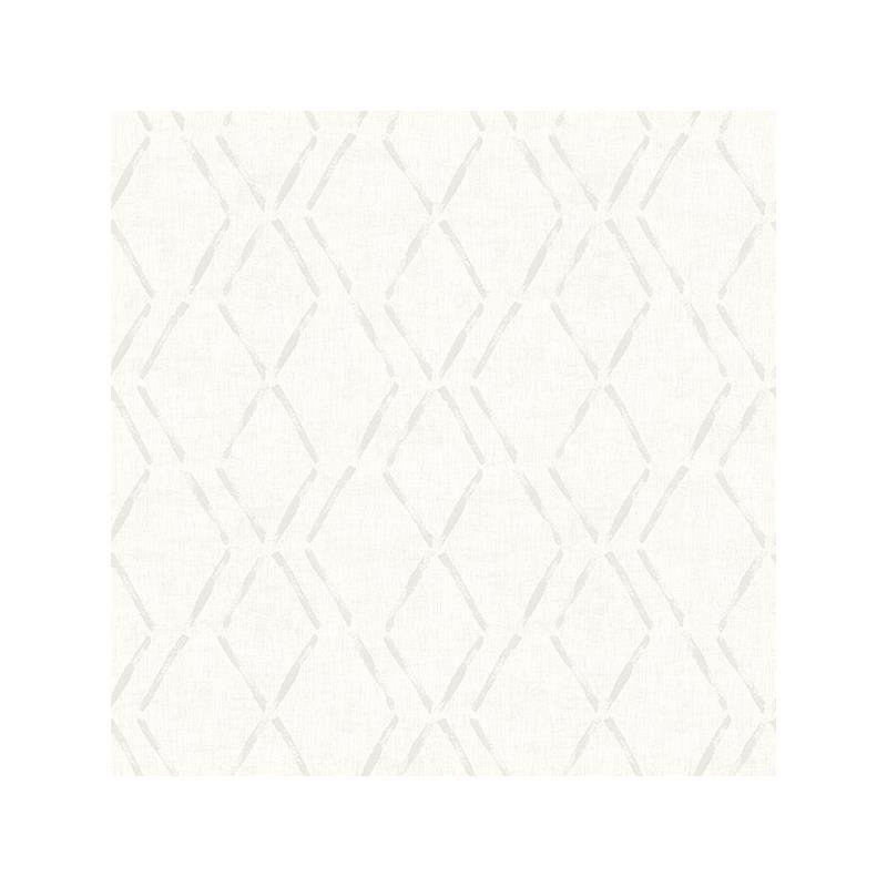 3118-12653 Birch and Sparrow, Tapa Trellis by Ches